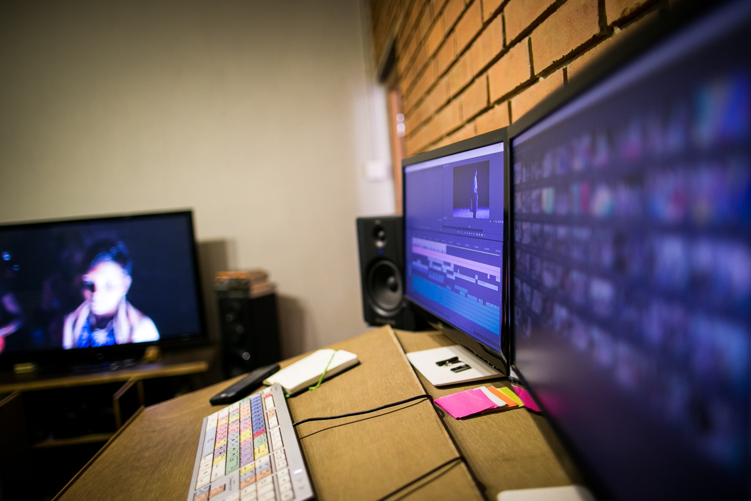 Documentary film editor - Edit Suite